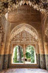 Wall Mural - Alhambra de Granada. Observation Point of Daraxa