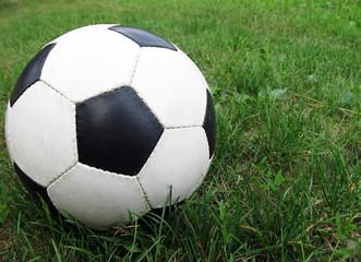 Мяч на траве