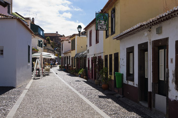 Funchal Old Town street