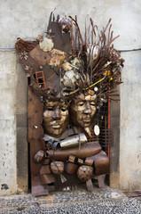 Funchal doorway art