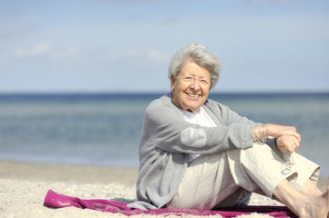 Senior Woman by the Sea 6