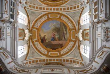Decke und Empore Klosterkirche Oberelchingen