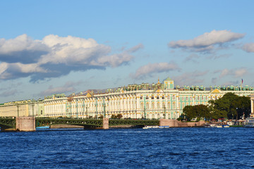 The Winter Palace and The Palace Bridge