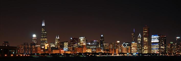Chicago Night Sky