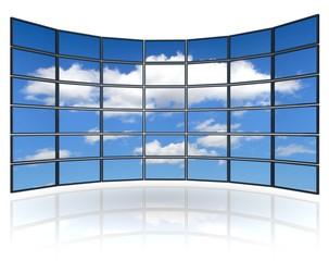 Monitor_Wand_Wolken