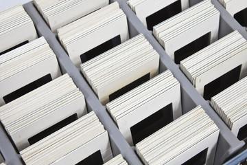 Vintage Slides in Storage Box