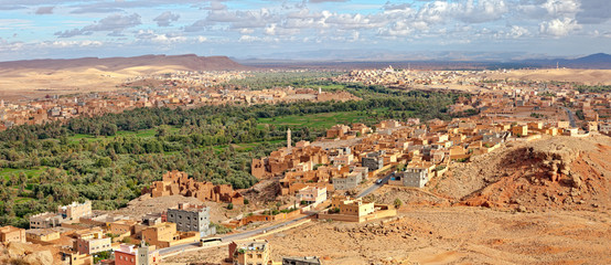 Morocco, thousand Kasbahs area