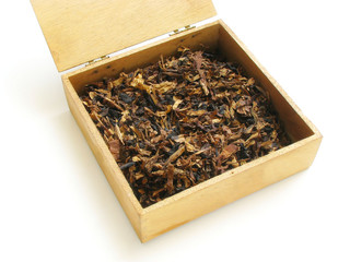 Aromatic fine pipe tobacco