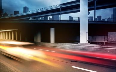 Fototapete - City Traffic