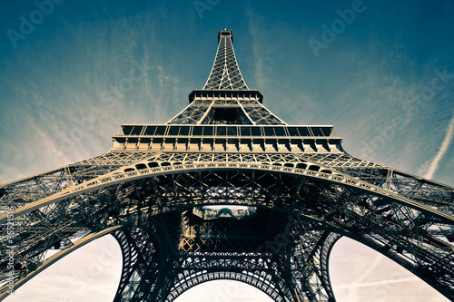 Wall mural Tour Eiffel Paris France