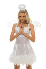 Angel shape. Halloween and Christmas fancy theme.