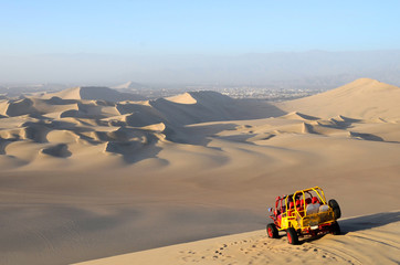 Sand Dessert with Dune Buggy
