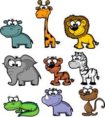 Установить мультфильм животных