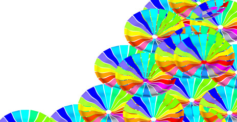 Circle colour graphic