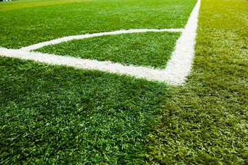 green grass, soccer field