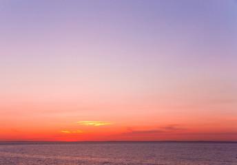 Clouds Ocean Dawn