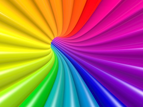 colorfull tube