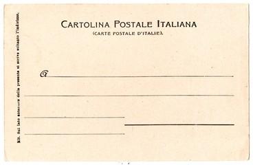 Cartolina Postale Italiana1
