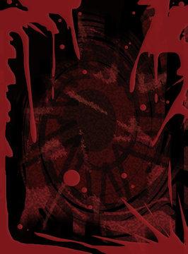 Halloween bloody texture background