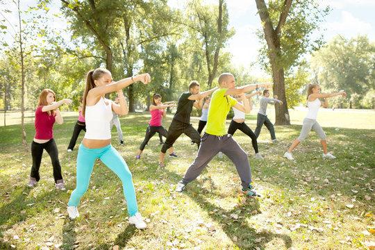 kickboxing, outdoor
