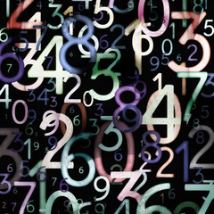 Abstract colorful numbers