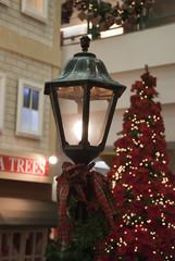 Christmas Lamp with Christmas tree