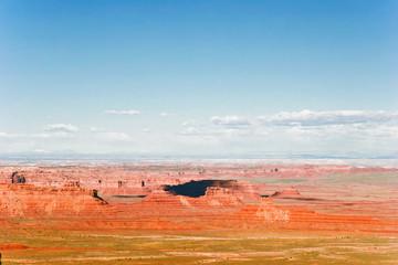 Photo sur Aluminium Rouge traffic Landscape of Utah state. USA