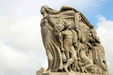 Kriegerdenkmal in Le Havre