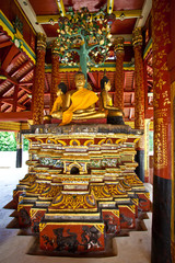 A Buddha statue in Lampang of Thailand2