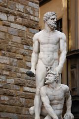 Ercole e Caco in piazza della Signoria