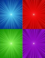 Fondos de luz de colores