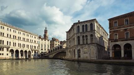 Венеция. Вид у моста Риальто