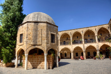 Büyük Han (the Great Inn) in Nicosia