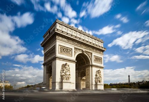 Wall mural Arc de Triomphe Champs Elysées Paris France