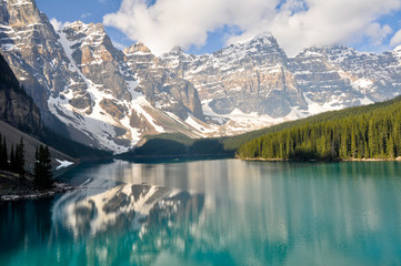 Printed roller blinds Canada Moraine Lake, Rocky Mountains, Canada