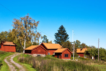 Old farm in Sweden.