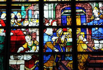Rouen, vitraux de l'église Sainte Jeanne d'Arc