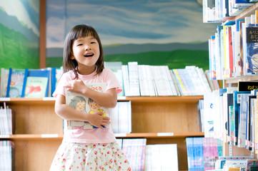 図書館の子供