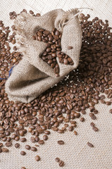 Foto op Canvas koffiebar Coffee sack