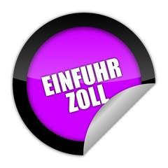 button aufgedreht einfuhr-zoll 1