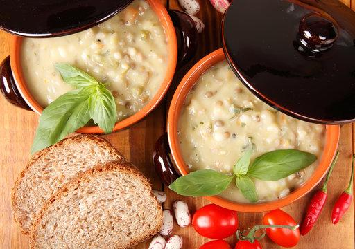 Cucina tipica Toscana (Minestrone)