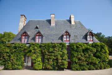 Casa en los jardines del castillo de Chenonceau