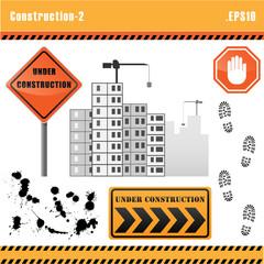 Construction set vector.