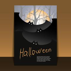 Halloween Flyer or Cover Design