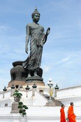 Big Buddha with blue sky