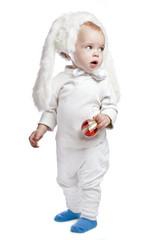 baby boy in the speck fancy dress