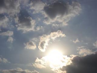 Пейзаж, небо, день