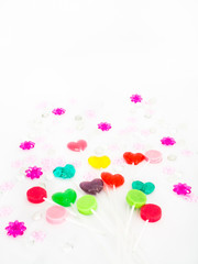 Lollipops and Colored Beads