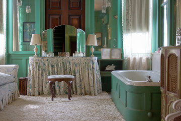 Elegant, Vintage Bathroom