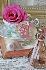Wall Mural - Vintage roses
